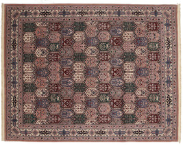 8' x 10' Vintage Hand Knotted Oriental Area Rug... - $741.09