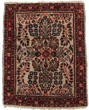 """1' 10"""" x 2' 4"""" Antique Persian Sarouk Hand Knot... - $603.84"""