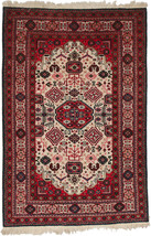 """4' 8"""" x 6' 11"""" Hand Knotted Wool Persian Ardebi... - $1,747.59"""