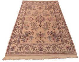 """4' x 6' 1"""" New Hand Knotted Wool Oriental Area ... - $232.82"""