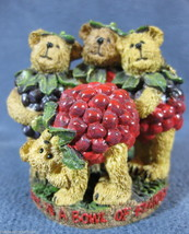 Boyds Bearstone Jammin Frank Oscar Barney & Stu #02004-21 Retired Bears ... - $11.26