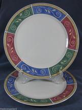Sakura Persia Stoneware Lot of 2 Dinner Plates ... - $26.14