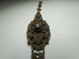 """Vintage Copper 7.5"""" Bracelet Mother Of Pearl Bracelet Unsigned - $28.49"""