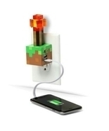 Mojang Minecraft Redstone Torch USB Wall Charger by ThinkGeek  - £29.73 GBP