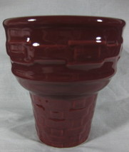 Longaberger Pottery Woven Traditions Paprika Ic... - $16.79