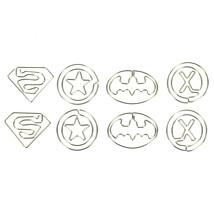 9Pcs Superhero Paper Clip Stylish Student Schoo... - $6.92
