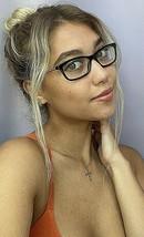 New BURBERRY B 9021 54mm Black Gold Cats Eye Rx Women's Eyeglasses Frame - $129.99
