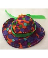 Vintage Barbie Best Buy #3206 Simply Summer Hat--Boots N Bubbles Fabric  238-13 - $48.00