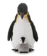Aurora 12'' EMPORER PENGUIN With Baby Penguin C... - $14.69