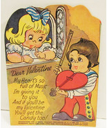 E. ROSEN VALENTINE LOLLIPOP HOLDER CARD SERENAD... - $9.99