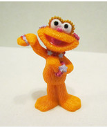 SESAME STREET ZOE PVC FIGURE BY TYCO ORANGE MON... - $13.99