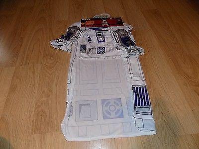 Size Small Disney Star Wars Droid R2D2 Pet Dog Halloween Costume Shirt & Hat New