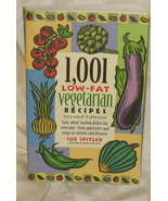 1,001 Low-Fat Vegetarian Recipes PB - $17.99