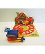 SMURFS SMURF EXPRESS WIND-UP TOY TRAIN 1980's P... - $10.99