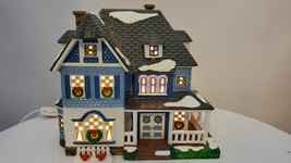 "Dept 56 Snow Village  ""Shingle Victorian"" With Box  - $49.49"