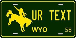 Wyoming 1958 Personalized Tag Vehicle Car Auto License Plate - $16.75