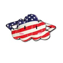 Cute Cartoon Cloud Series[Stars and Stripes]Car Headrest/Car Neck Pillow