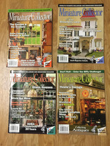 Miniature Collector Magazine - 2009 Issues -these are OUT of Print - $3.49