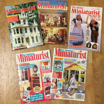 Choice of The HOME MINIATURIST Magazine - Various Issues 1993 to 1995 - $6.99