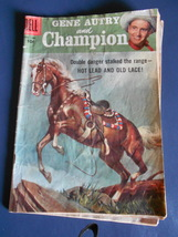 Gene Autry and Champion 1956 Dell 10 cent Comic #112 - $17.00