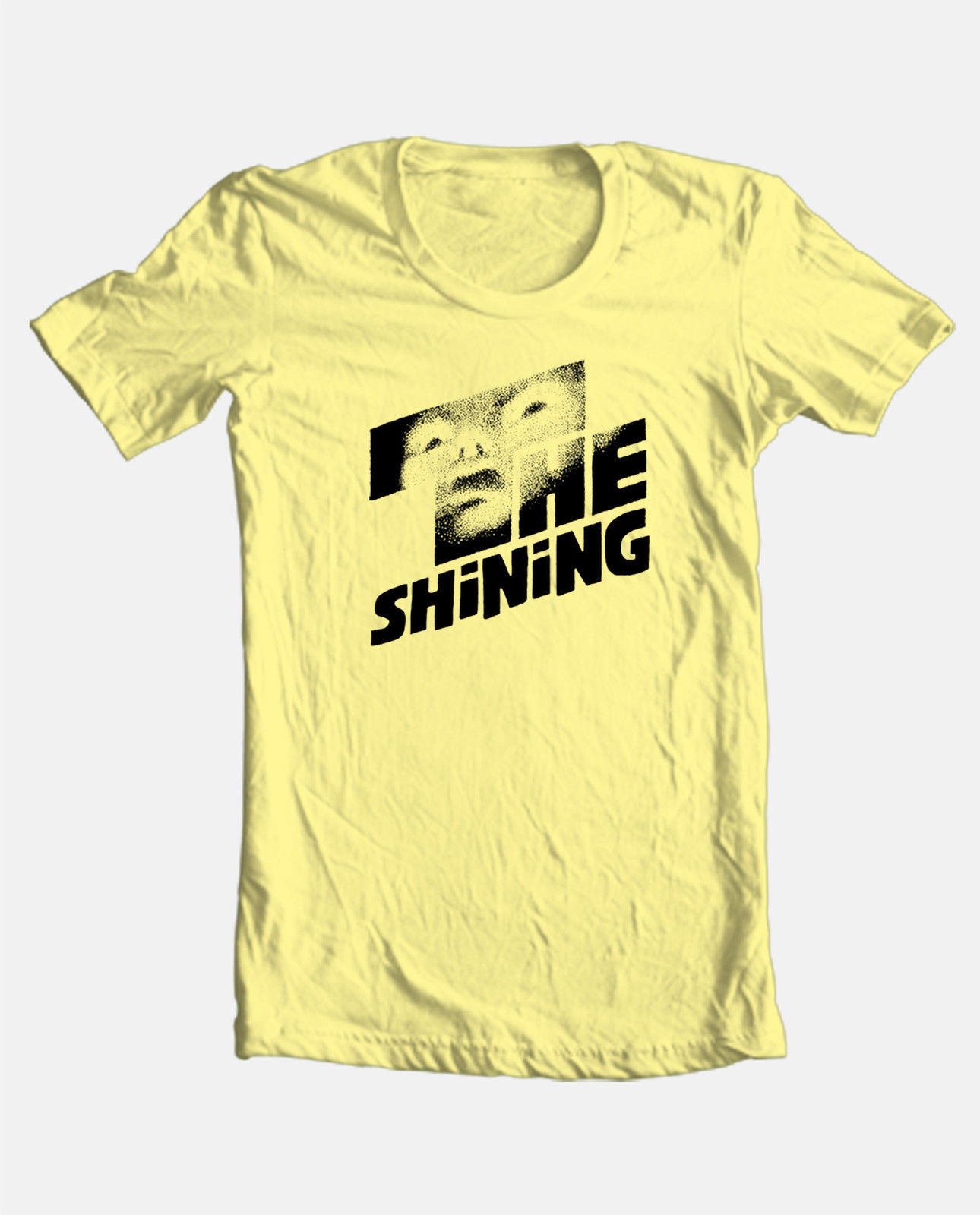 The Shining T-shirt retro 70's Steven King classic horror movie 100% cotton tee