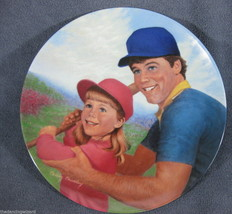 Batter Up A Father's Love Collector Plate Betsy... - $17.05