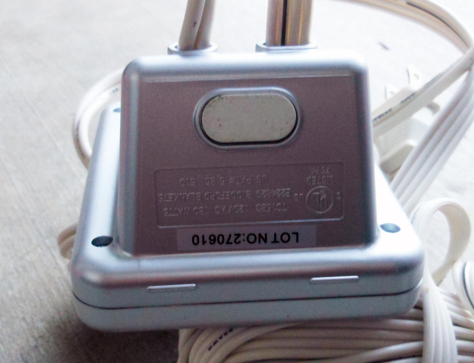 Sealy Biddeford Tc15b3 Electric Blanket Controller