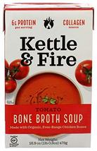 Kettle & Fire Kettle And Fire, Tomato Soup With Chicken Bone Broth, 16.9 Oz - $9.89