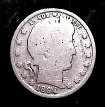 1894 P BARBER SILVER QUARTER TUFF DATE IN ANY GRADE - $18.00
