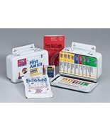 10 Unit 46 Piece Unitized ANSI First Aid Kit Metal Case with Gasket - $44.12