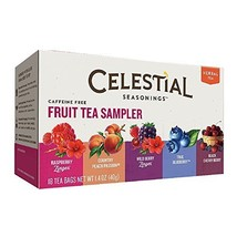 Celestial Seasonings Fruit Tea Sampler Tea Bags... - $7.32
