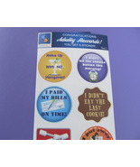 Adult Reward Stickers Series 1 You Adulted Today Congratulations humor d... - $3.95