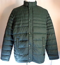 Men's XL Kenneth Cole Reaction Quilted Lightweight Jacket Dark Green  - $69.95