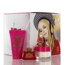 Viva La Juicy Perfume gift set Juicy Couture Women 0.17 oz Parfume & Cre... - $14.99