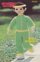 The Jogger, Annie's Attic Sporting Crochet Pattern Club Leaflet 87S20 - $2.95