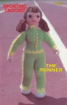 The Runner, Annie's Attic Sporting Crochet Pattern Club Leaflet 87S21 - $2.95
