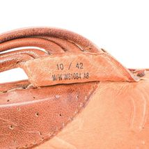 Born Brown Leather Flip Flops Thong Style Sandals Casual Shoes Womens 10 M image 6