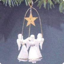 Joyous Angels 1987 Hallmark Ornament QX4657 - $7.92