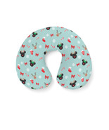 Christmas Mickey & Minnie Reindeers Disney Inspired Travel Neck Pillow - $28.78 CAD