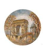 Bradford Exchange Limoges L Arc De Triomphe La Ville De Paris Par Louis ... - $57.33