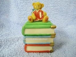 Cherished Teddies Covered Box Birthday Age 10  2001 NIB - $33.61