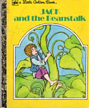 Jack And The Beanstalk - A Little Golden Book - $3.50