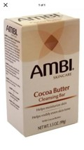 (1) AMBI CLEANSING BAR SOAP COCOA BUTTER 3.5 Ounce - $9.49