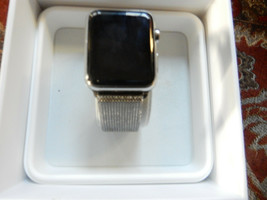 Apple Watch 42mm Stainless Steel Case Stainless Steel Milanese Loop - (MJ3Y2LL/A - $121.51