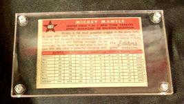 1958 Mickey Mantle Baseball Trading Card # 487 AA 19-BTC4003 Vintage Collectible image 8