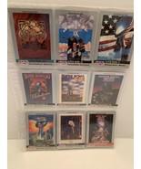 1990 Pro Set Super Bowl Team Set 9 Football Cards Super Bowl VIII-XVI - $8.50