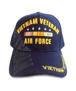 US Air Force Vietnam Veteran Hat Blue Adjustable Cap - $12.95