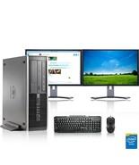 "HP Computer 3.0 GHz PC 8GB RAM 1 TB HDD Windows 10 Dual 19"" LCD - $365.04"