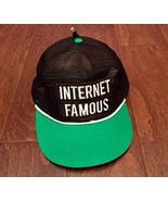 New! Trucker Ball Cap Meshback Hat Snapback 2-Tone Cap Internet Famous - $19.80