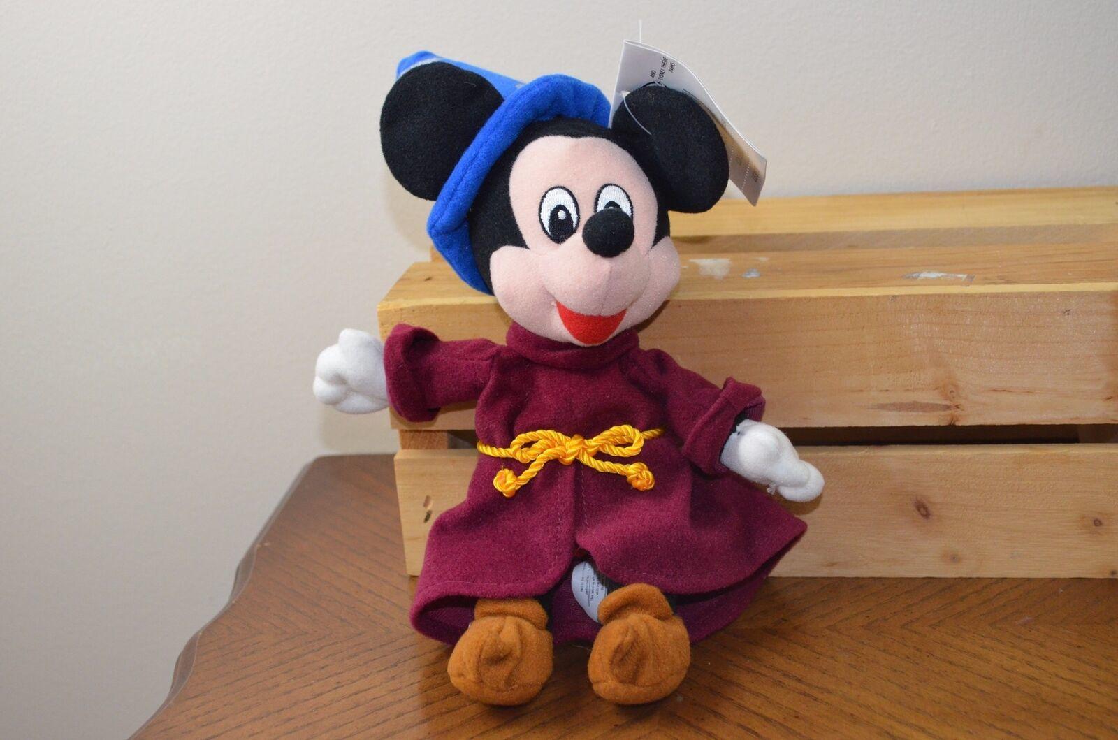 f2be389b4d9 S l1600. S l1600. Previous. Mickey Mouse Fantasia Sorcerer Disney Store  Mini Bean Bag Beanie Plush ...
